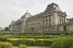 Royal palace in Brussels. Capital of Belgium Royalty Free Stock Photo
