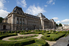 The Royal Palace, Brussels. The Royal Palace at Brussels stock image