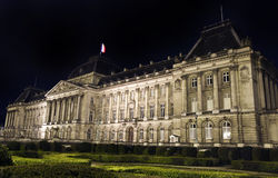 Royal Palace of Brussels. The Royal Palace of Brussels Stock Image