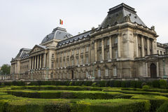 Royal Palace in Brussels Stock Photography