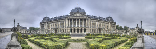 Royal Palace of Brussels, Belgium. Stock Images