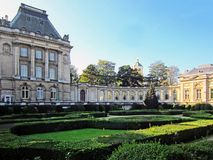 The Royal Palace of Brussels. Belgium Royalty Free Stock Photography