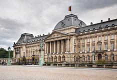 Royal Palace of Brussels. Belgium Royalty Free Stock Image