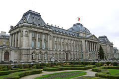 Royal Palace of Brussels, BELGIUM. Royalty Free Stock Photo