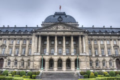 Royal Palace of Brussels, Belgium. Stock Photography