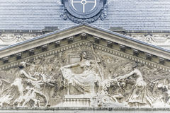 Royal Palace of Brussels, Belgium. Stock Image