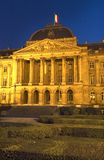 Royal Palace of Brussels, Belgium. Royalty Free Stock Photography