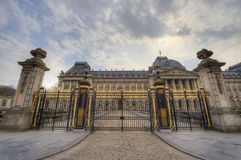 Royal Palace in Brussels Royalty Free Stock Image