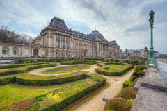 Royal Palace in Brussels Stock Photos