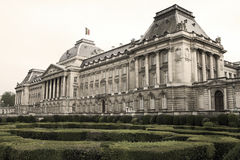 Royal Palace in Brussels Royalty Free Stock Images