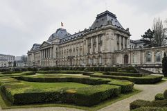 The Royal Palace of Brussels Royalty Free Stock Photo
