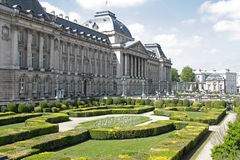 Royal palace in Brussels Stock Image