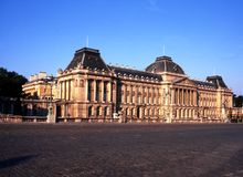 Royal Palace of Brussels. Royalty Free Stock Images