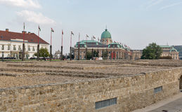 Royal Palace in Buda Castle, Budapest Royalty Free Stock Photography