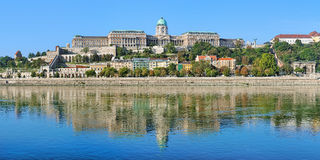 Royal Palace in Buda Castle of Budapest, Hungary Royalty Free Stock Photos