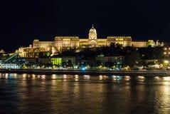 Royal Palace or Buda Castle Royalty Free Stock Photos