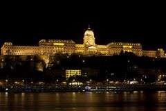 Royal palace of budapest Stock Photography