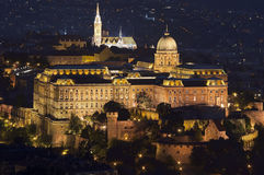 Royal Palace Budapest Stock Photos
