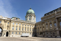 Royal palace in budapest Royalty Free Stock Images