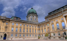 The Royal palace in Budapest Stock Image