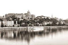 Royal Palace, Budapest foto de stock royalty free