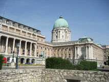 Royal Palace, Budapest Royalty Free Stock Image