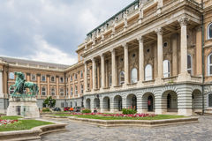 Royal palace in Budapest Stock Images