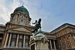 Royal Palace in Budapest Royalty Free Stock Photo