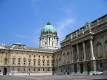Royal Palace - Budapest, Hongrie Images libres de droits