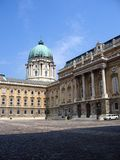 The Royal Palace - Budapest, Hungary Royalty Free Stock Images