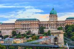 Royal Palace, Budapest Royalty Free Stock Photography