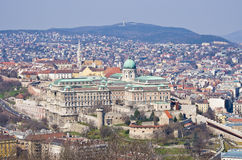 Royal palace in Budapest, Hungary Royalty Free Stock Photography