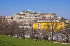 Royal palace in Budapest, Hungary Stock Image