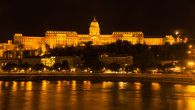 Royal Palace Budapest Hungary Royalty Free Stock Photo