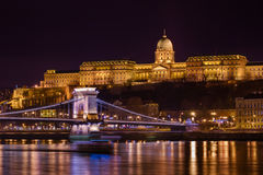 Royal palace in Budapest Hungary Stock Photo
