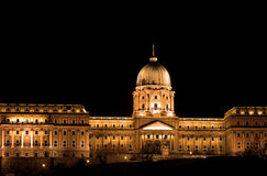Royal Palace, Budapest, Hungary Royalty Free Stock Images