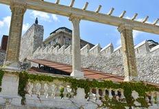 Royal Palace of Budapest, Hungary Royalty Free Stock Photos
