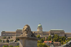 Royal Palace, Budapest. Royalty Free Stock Image
