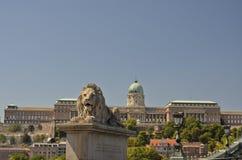 Royal Palace, Budapest. Royalty Free Stock Image