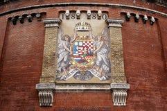 Royal Palace. Budapest, Ungarn. Stockbild