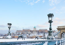 Royal Palace  in Budapest Stock Photo
