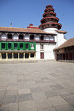 Royal Palace Buildings, Kathmandu, Nepal Stock Image