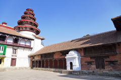 Royal Palace Buildings, Kathmandu, Nepal Stock Photo