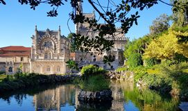 The Royal Palace of Bussaco stock image