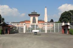 Royal Palace byggnad på Katmandu. Arkivbild