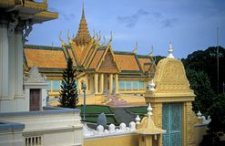 Royal Palace cambogiano Immagine Stock