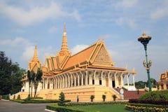 Royal Palace, Camboya Imágenes de archivo libres de regalías