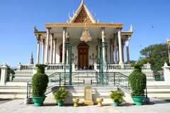 Royal Palace in Phnom Penh. Royal Palace in the capital of Cambodia stock images