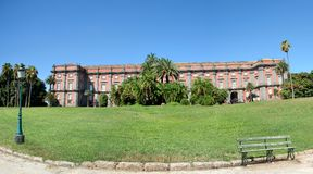 Royal Palace of Capodimonte, Naples Stock Photo