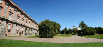 Royal Palace of Capodimonte, Naples Royalty Free Stock Photo